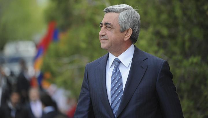 Yerevan.Today | Պաշտոնաթող նախագահ Սերժ ...
